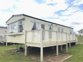CHEAP 3 BEDROOM STATIC CARAVAN FOR SALE AT CRIMDON DENE - SEA VIEW - 12 MONTH PARK - PET FRIENLDY