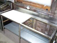 SS Tables, Sink, propane tank MUST GO 727-5344