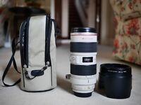 Canon USM 70-200 2.8L IS Lens