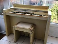 Eavestaff mini piano - buyer must collect