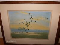 2 Peter Scott Paintings