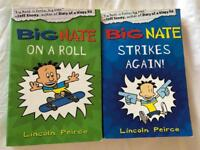 Two Big Nate Paperback Books