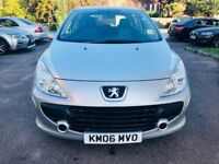 PEUGEOT 307 S, YEAR 2006, FULLY AUTOMATIC, VERY LOW MILEAGE, FULL SERVICE HISTORY,2 KEYS, LADY OWNER