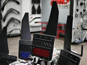 KICK BACK MUD-FLAPS*** 12 INCH WIDE KICK BACK FLAPS !!! SHIPPING AND INSTALL AVAILABLE