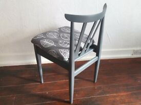 Upcycled EON dining chairs, set of 4
