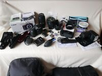 Canon 7D bundle with Canon 15-85 USM and Tamron 70-300mm Lens' + more