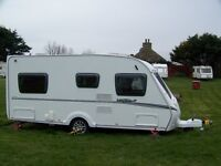 2009 Abbey Vogue 2 470 4 Berth Fixed Bed Touring caravan