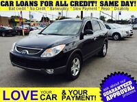 2010 Hyundai Veracruz Limited * LTHR * POWER RF * DVD * AWD