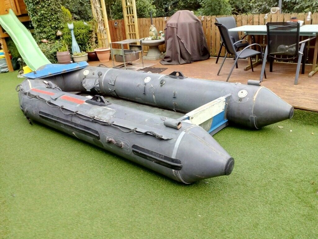 Inflatable boat for sale  Large Avon heavy duty lnflatable boat with wooden  removable floor    in Gorebridge, Midlothian   Gumtree