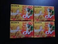 SONY premium dv tapes