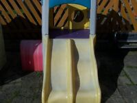 Little Tykes twin slide and climbing frame and tunnel