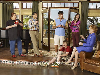 TWO AND A HALF MEN CAST TV SHOW POSTER (Two And A Half Men New Cast)