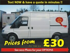 HASSLE FREE MOVING - MAN & VAN -TEXT NOW >> 0 7 4 0 4 6 4 1 9 9 1++student rates