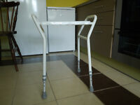 AS NEW SHOWER STOOL FULLY ADJUSTABLE