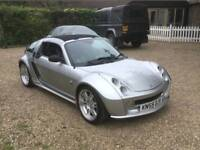 Smart Brabus Roadster Xclusive (2005/55) One year MOT cheap on petrol and low insurance