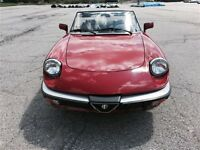1988 Alfa Romeo Spider Graduate / ONLY 56,000kms/ PERFECT CONDIT