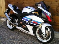 gsxr1000 L3 million limited edition 1500 mls from new
