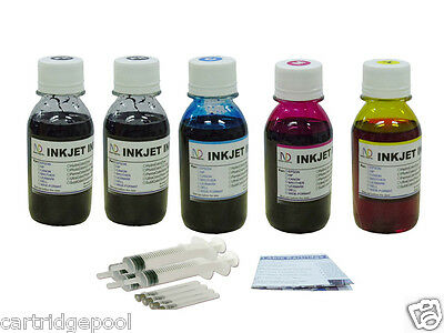 Refill Ink Kit For Hp 27 28 Officejet 5610xi 4215v 4215xi...