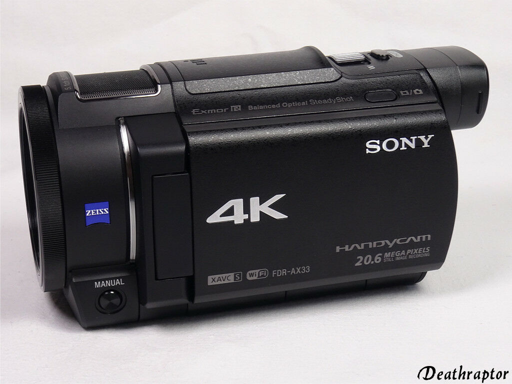 Sony FDR-AX33 Camcorder AX33 Videokamera 4K Ultra HD OVP HÄNDLER