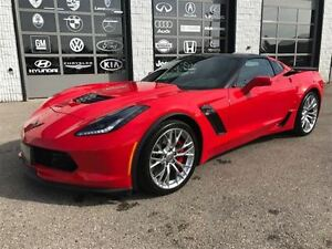 2016 Chevrolet Corvette Z06 1140 kms only 2LT glass roof