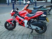 Gilera DNA breaking for parts 50cc 125cc 180cc