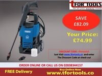 Draper 28018 1700W 230V Pressure Washer with Total Stop Feature