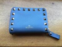 Valentino Rockstud light blue purse with box