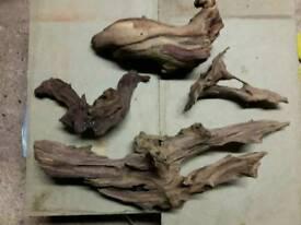 Fish tank wood roots set