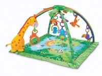 Fisher Price Baby swing rocker and Baby playmat available for £60