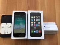 iphone 5s unlocked space grey 16gb very good condition boxed + receipt
