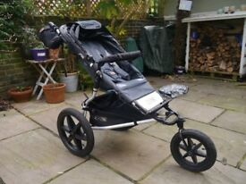 Child's Mountain Buggy with Extras