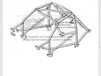 Safety devices GC8 impreza weld-in cage