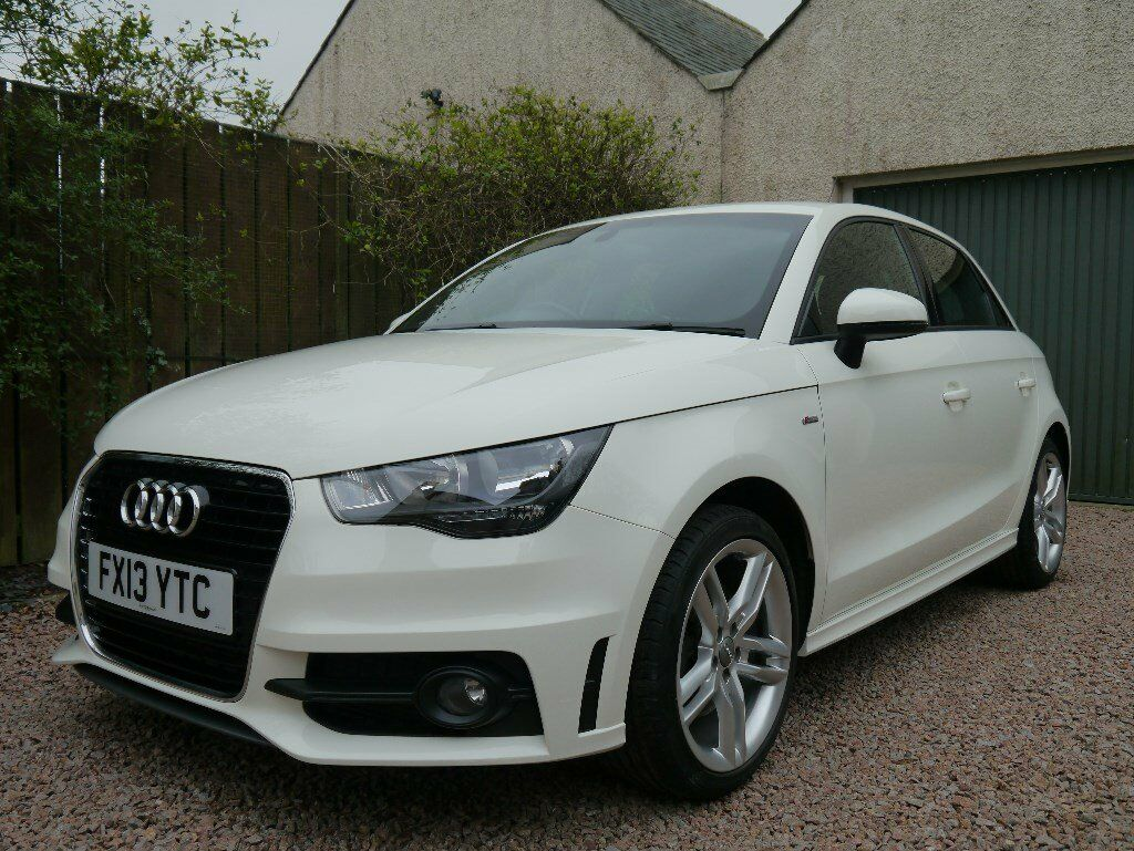 2013 audi a1 sportback s line 1 6tdi 0 road tax low mileage 16000 miles in ellon. Black Bedroom Furniture Sets. Home Design Ideas