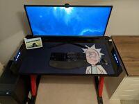 X Rocker Jaguar Gaming/Office/WFH Desk