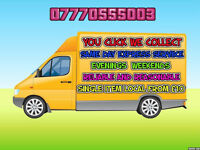 RELIABLE FRIENDLY REASONABLE MAN WITH VAN