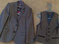 Boys suit Jacket and waistcoat