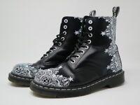 Dr Martens 1460 Pascal Lace Boots - Size 6