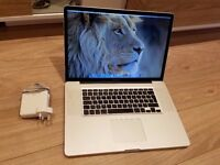 """Macbook PRO 17"""" A1297✔ Core 2 DUO 2.8GHz✔ 6GB DDR3✔ 240GB Samsung SSD✔ Excellent condition"""