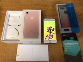 iPhone 7 rose gold unlocked