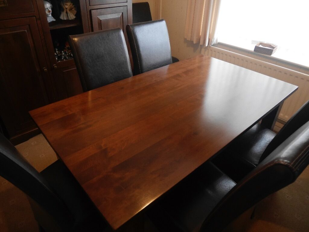Great MAHOGANY EXTENDING DINING TABLE (HOUSE OF FRASER) LAUSANNE RANGE