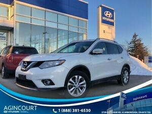 2014 Nissan Rogue SV AWD|PANOROOF|BCAM|OFF LEASE