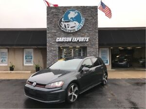 2015 Volkswagen GTI SHARP GTIBAHN W/DSG! FINANCIMG AVAILABLE!