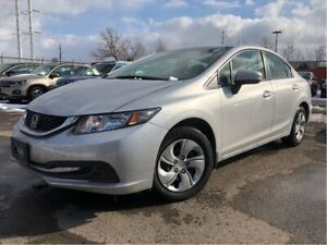 2015 Honda Civic LX Heated Front Seats Cruise Control