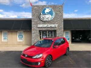 2013 Volkswagen GTI SPORTY GTI FINANCING AVAILABLE!