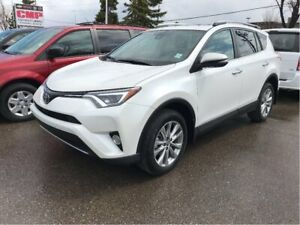 2017 Toyota RAV4 Limited | AWD | Leather | Sunroof | HTD Seats