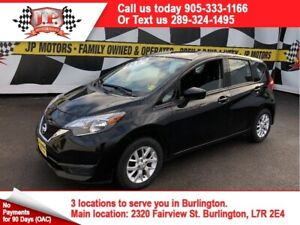 2017 Nissan Versa Note SV, Automatic, Back Up Camera, Heated Sea