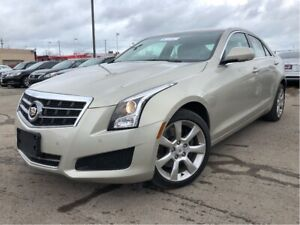 2014 Cadillac ATS 2.0L Turbo Luxury AWD Leather Nav Moonroof