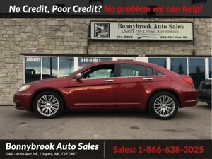 2013 Chrysler 200 Limited leather bluetooth p/sunroof