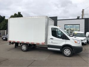 2017 Ford Transit 12ft cube van. leasing or financing available