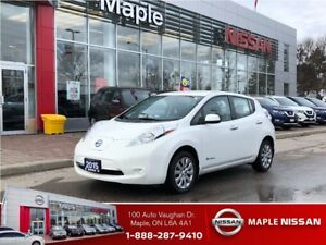 2015 Nissan LEAF Camera, Front/rear Heated Seats,Full Electric!